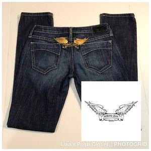 "Robin's Jeans ""Marilyn"" Straight leg jeans"
